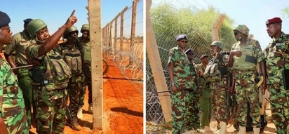 Leaked photos of the wall Kenya is building along its border with Somalia