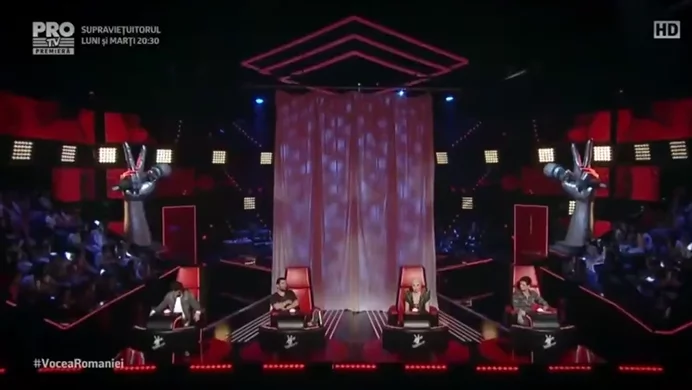 The Voice Romania judges went crazy over Pinay's blind audition performance!