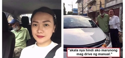 Sobrang bait naman! This compassionate Pinay passenger drove a taxi cab because the 70-year-old driver was too tired & sleepy