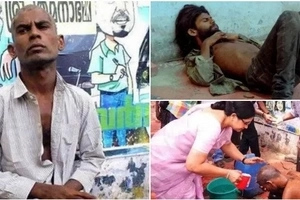 See these amazing photos how a dirty homeless beggar went through incredible changes to look like THIS (photos)