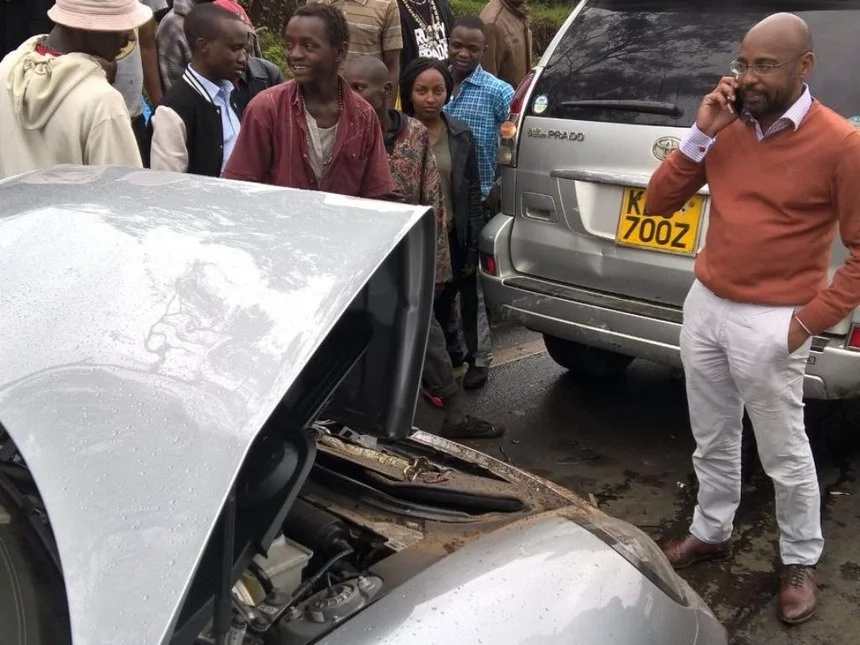 SK Macharia's son killed in horrific accident