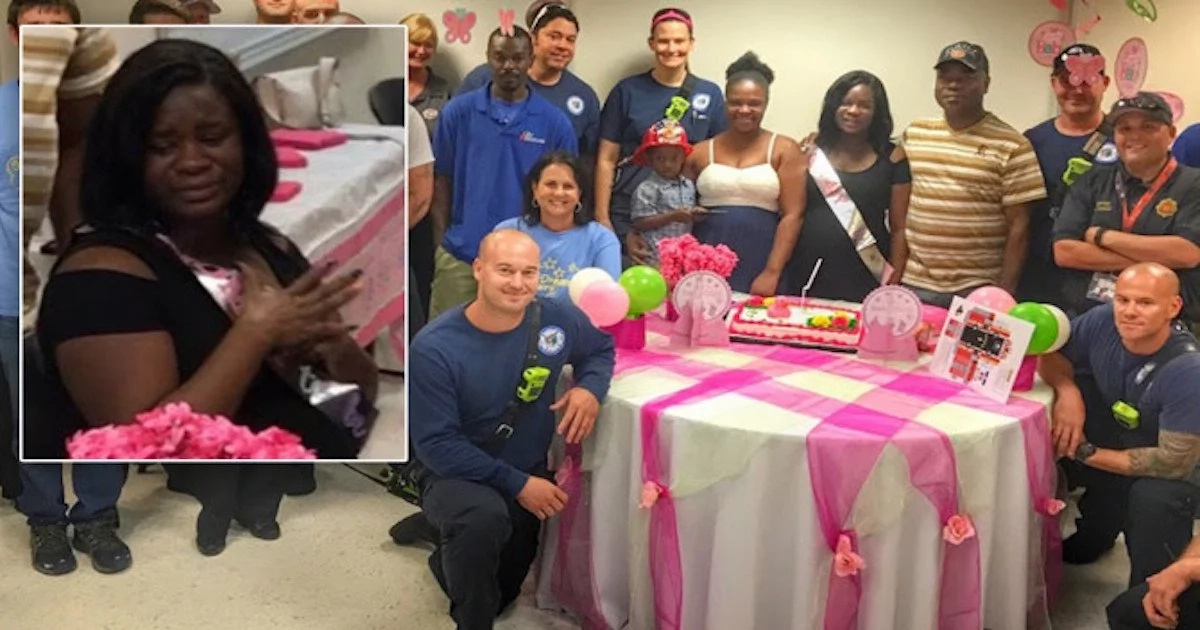 This firefighters find new apartment for pregnant mom who lost everything in fire (photos, video)