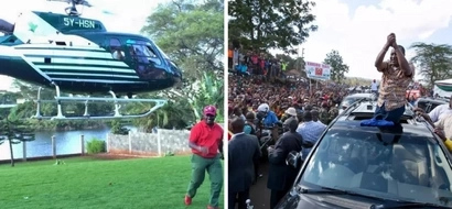 Governor Kabogo steals Uhuru's show with expensive MILITARY vehicles (photos)