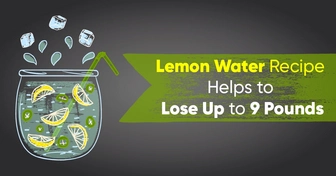Lemon Water Recipe Helps to Lose Up to 9 Pounds