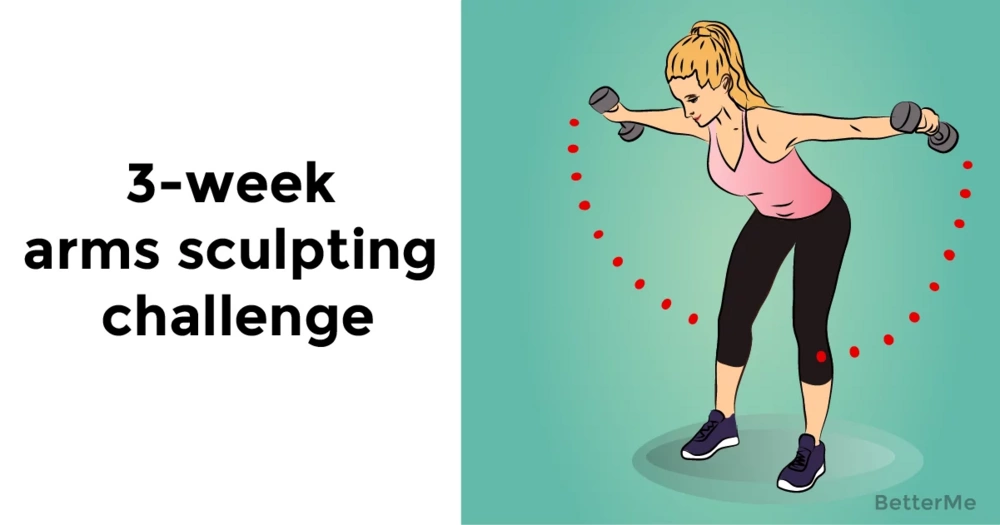 3-week arms sculpting workout