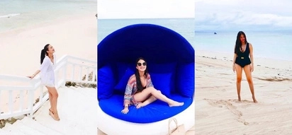 Buhay bakasyonista! Heart Evangelista is having a lot of fun under the sun at Balesin
