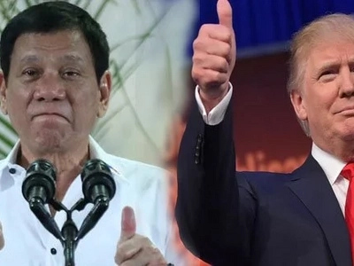 Proud Duterte says US President-elect Trump wishes him success in war on drugs