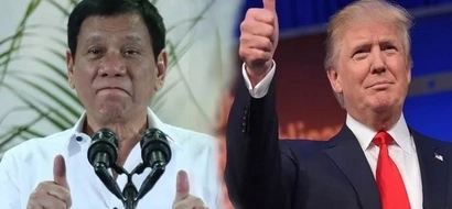 Ang bilis niya! Duterte congratulates Trump and looks forward to enhanced PH-US relations