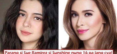Mukhang si Sue? Sunshine Cruz's 16 vs. 40 photo proves she's the ultimate goddess and netizens are going crazy over it!