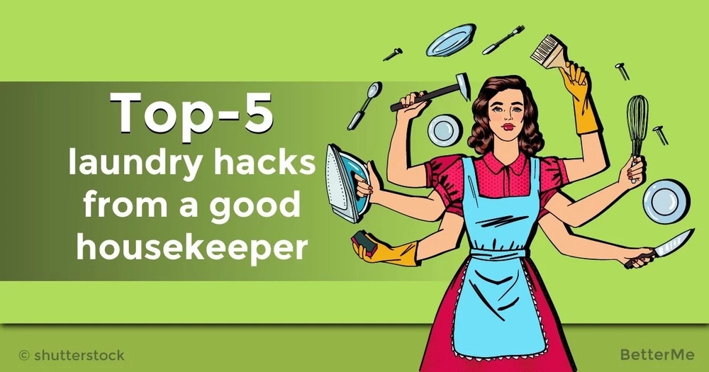 Top-5 laundry hacks from a good housekeeper