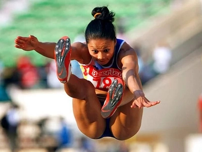 Another heartbreak: Long jumper Marestella Torres failed to qualify at Rio finals