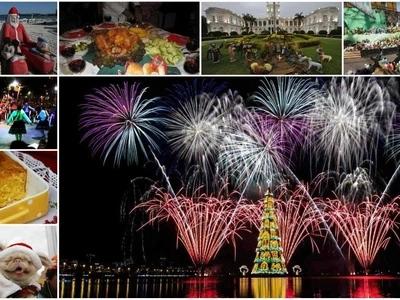 Así se celebra la Navidad en Brasil, Bolivia y Paraguay