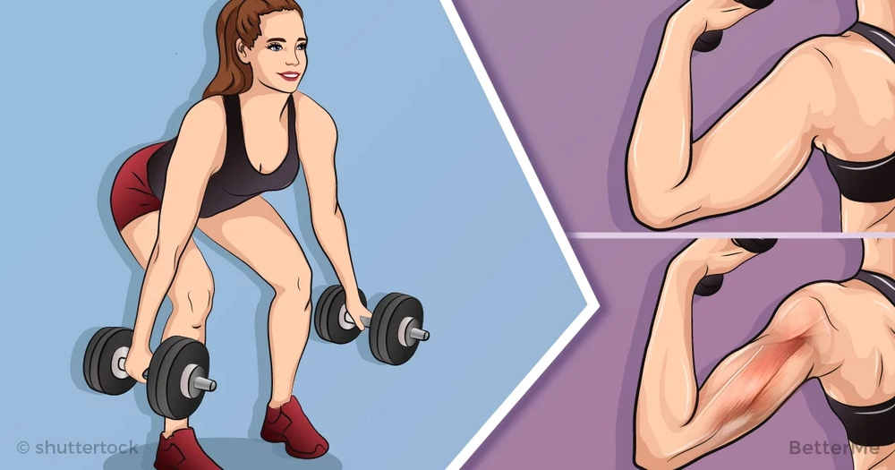 A 9-minutes workout to get rid arm fat