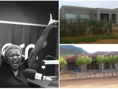 'We did it': Radio host Kea Motlokwa builds houses for her mom and granny