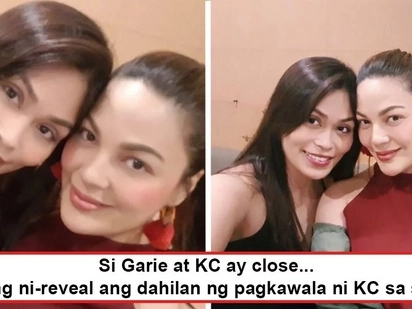 Kaya pala di na siya nakikita ngayon! KC Concepcion's sister, Garie, reveals real reason why actress disappeared from TV and film