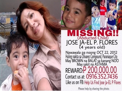 Her son was kidnapped 5 years ago but mom still clings to little hope she will find him