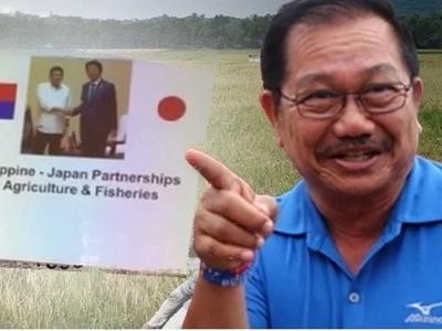 """""""Giyera"""" sa Pinas, idineklara ni Agri Sec Manny Piñol sa forum sa Japan"""