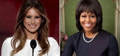 Michelle Obama and Melania Trump FACE OFF in these 14 photos