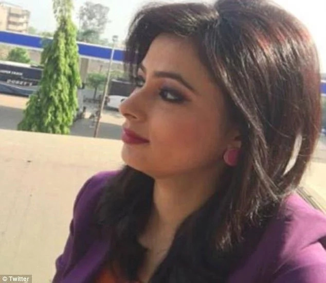India News Anchor Learns of Husband's Death on Live TV