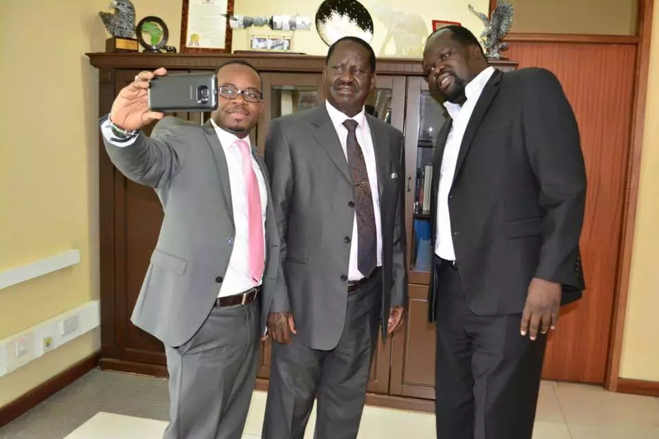 Raila meets Alai after he criticised his presidential bid