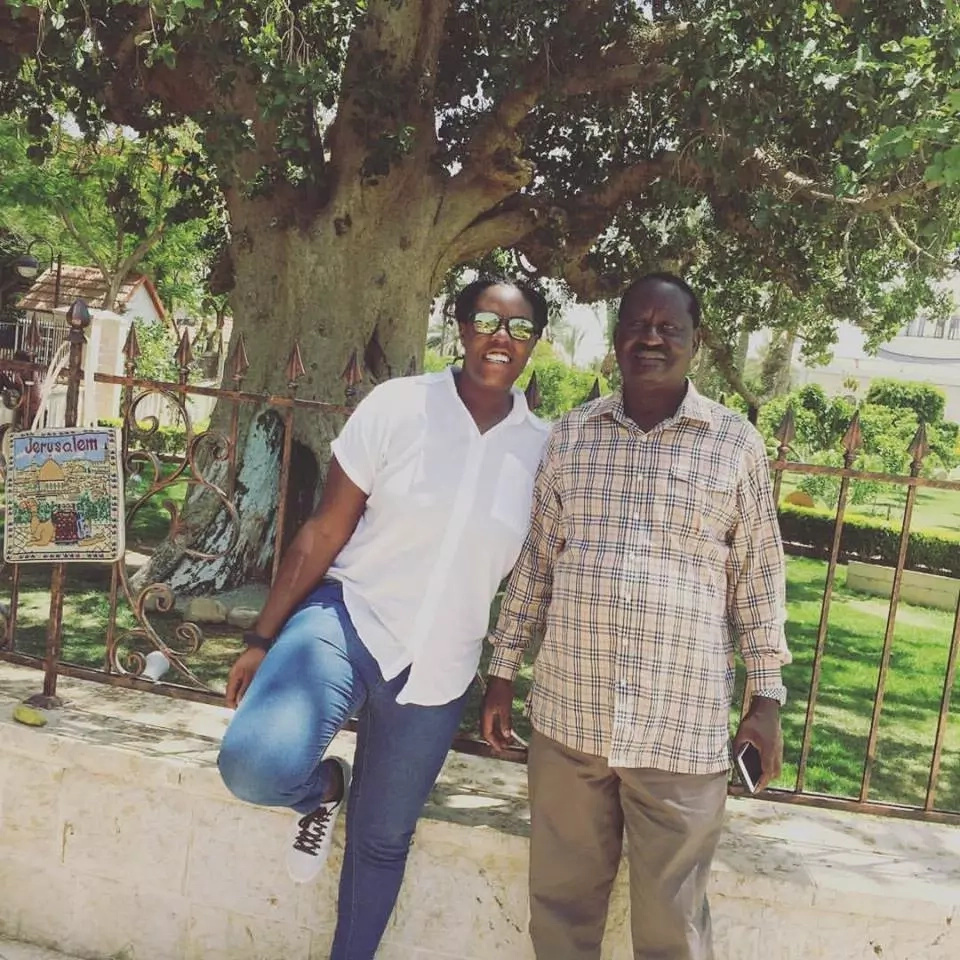My driver was shot at and rushed to hospital - Raila's daughter claims