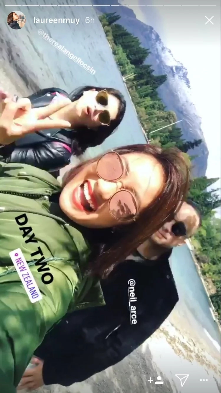 Angel Locsin, now in New Zealand for Anne and Erwan's much-awaited Wedding