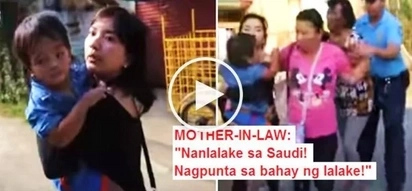 Watch this OFW fight with her mother-in-law to get her 2-year-old son! The reason why grandma won't give up her grandchild is heartbreaking!