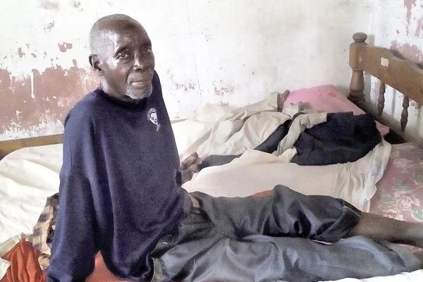 Former KBC actor living in total poverty at the Coast (photo)