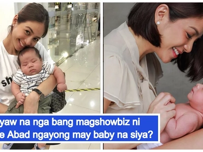 Iniwan ang Maynila, iiwan na rin ba ang showbiz? Kaye Abad is happily enjoying motherhood in Cebu City