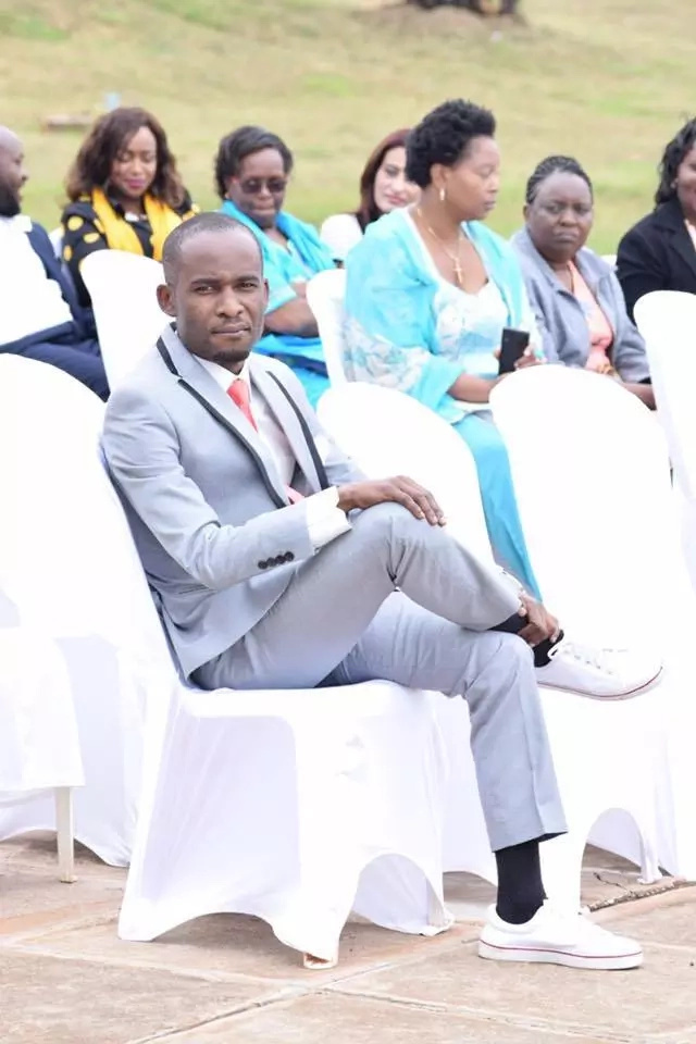Popular Kenyan artist weds in an exclusive wedding (photos)