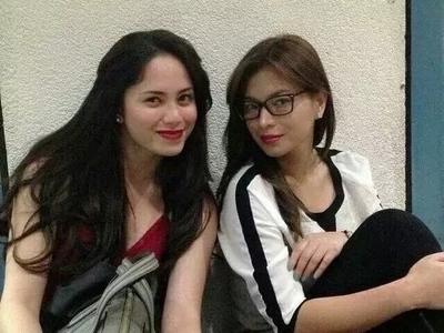 Awkward! Angel Locsin, Jessy Mendiola meets at Banana Sundae 8th Anniversary Concert