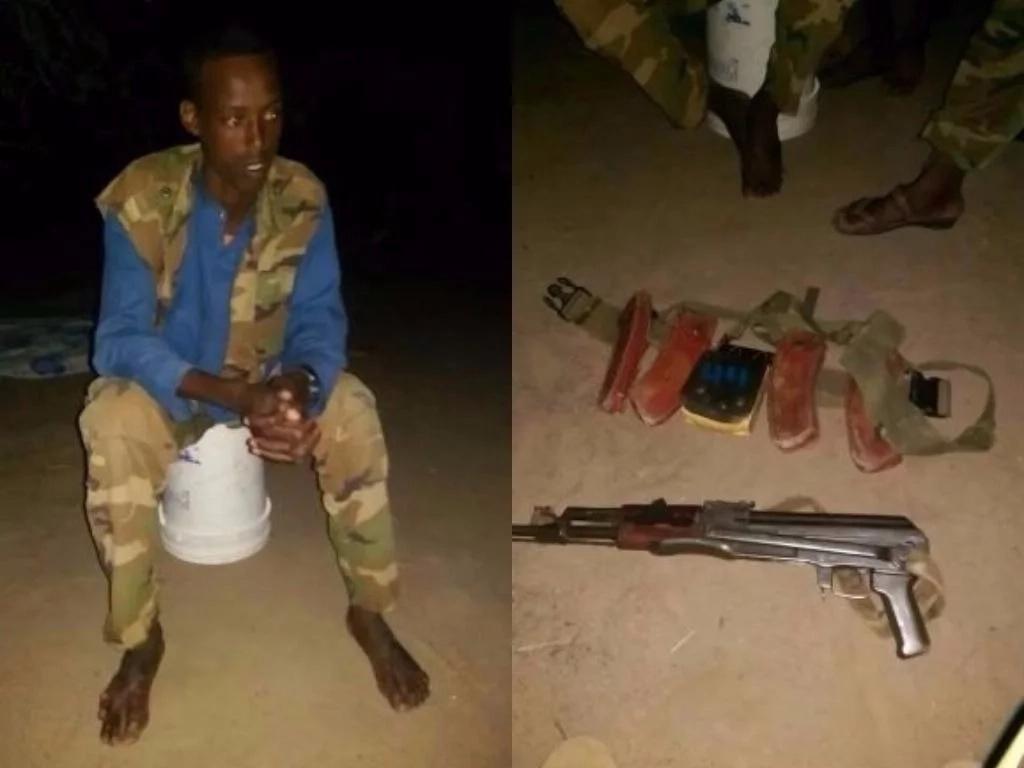 KDF na polisi wa kupambana na ugaidi wamnasa KAMANDA hatari wa al-Shabaab (Picha)