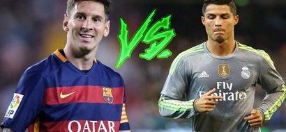 See how Lionel Messi defeated Cristiano Ronaldo 4-1 this week