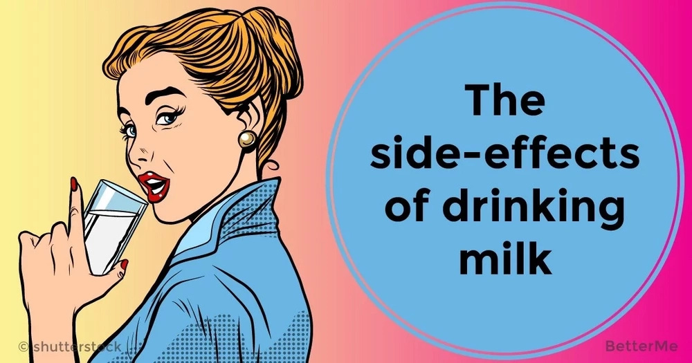 The side-effects of drinking milk