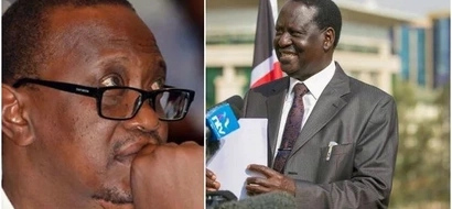 Uhuru is preparing to reject the Presidential results – Raila Odinga