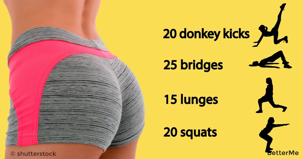 15-minute butt workout that can help women over 40 get tighter butt