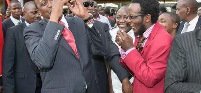 PHOTOS: Top Comedian Cracks President Uhuru's Ribs On Mashujaa Day