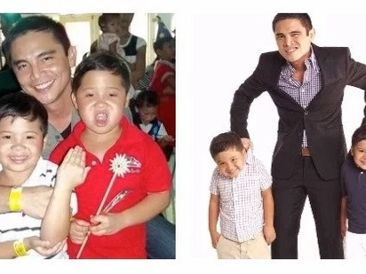 Meet the twins of Marvin Agustin all grown up!
