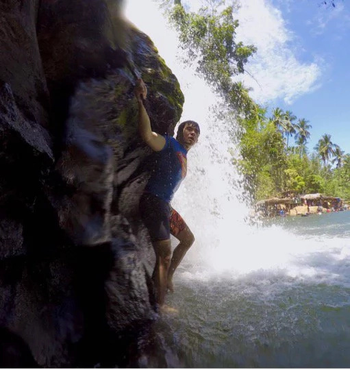 SOLventures: The joys of jumping from Bunga twin falls
