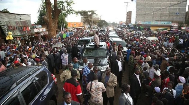 Raila gets personal invite to campaign in Uhuru's stronghold