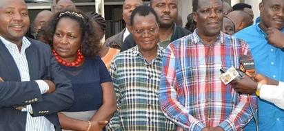 Luhya leaders vow to rally behind Raila Odinga