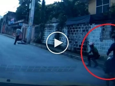 Patayan sa Cubao! Brutal Pinoy motorist shoots traffic enforcer and then runs him over with his car