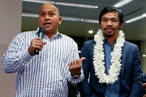 The senator defended dela Rosa on the issue against the all-expense paid trip. (Photo credit: philstar.com)