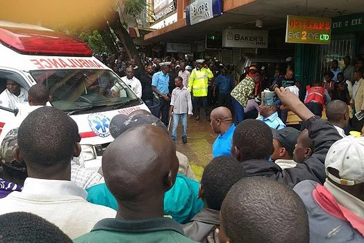 One killed, several injured as matatu crashes into bakery