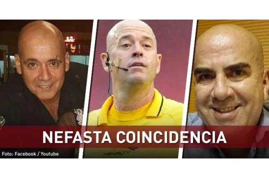 Con un narcotraficante es confundido el árbitro de la final de la Copa América