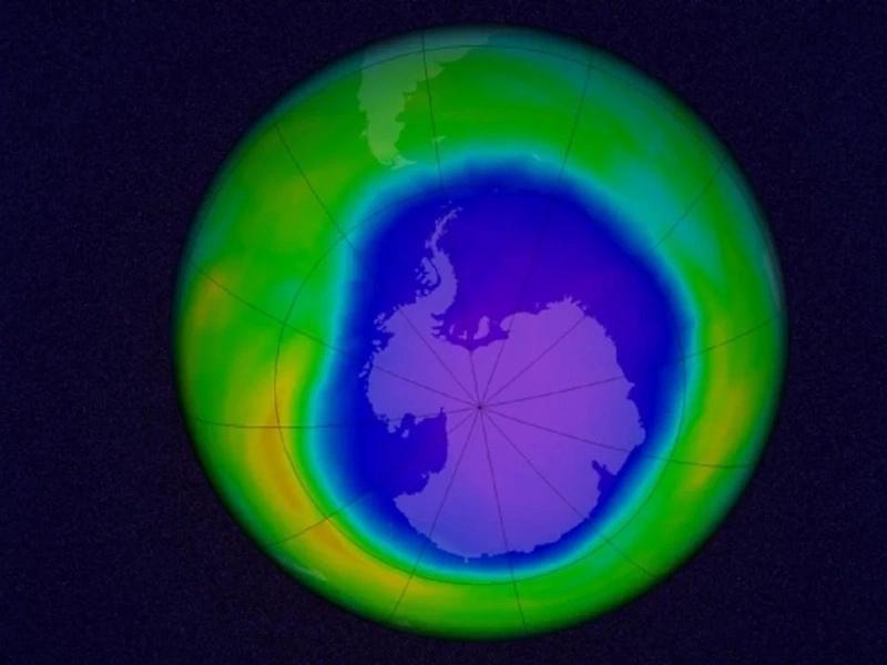 El agujero de la capa de ozono se está cerrando