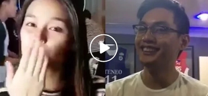 Guy shows how to play it cool when Liza Soberano greets you