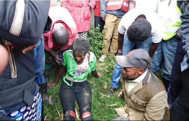Nyandarua woman horrifies residents after turning into lucifer, says she's headed into Indian Ocean