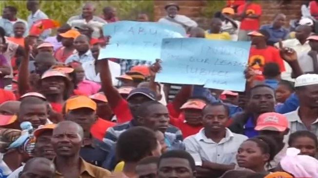 Ziara ya NASA eneo la mlima kenya yakummbwa na fujo (video)