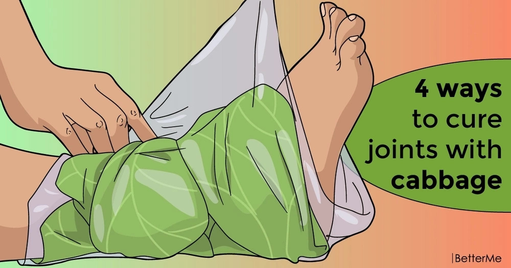 4 ways to cure joints with cabbage